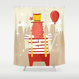Life is a carnival Shower Curtain