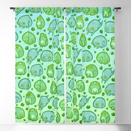 Friendly Frogs Blackout Curtain