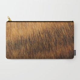 Brindle Fur Carry-All Pouch