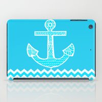 anchor iPad Cases featuring Anchor by haroulita