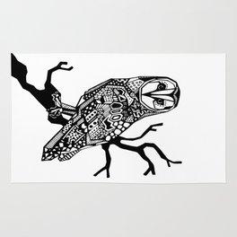 Owl tangle Rug