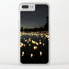 One Thousand Lanterns Clear iPhone Case