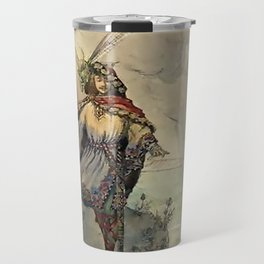 """""""King of the Fairies"""" by A Duncan Carse Travel Mug"""