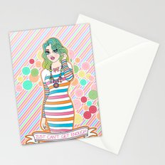 Just Can't Get Enough Stationery Cards