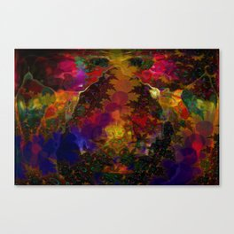 Stereo Trippin' Psychedelic Fractal Canvas Print