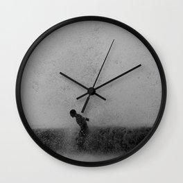 Dia de Agua Wall Clock