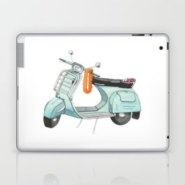 Watercolour   Bali Scooter Laptop & iPad Skin