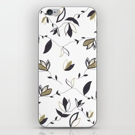 Tree Of Life - Floral & Foliage Pattern #1 #drawing #decor #art #society6 iPhone Skin