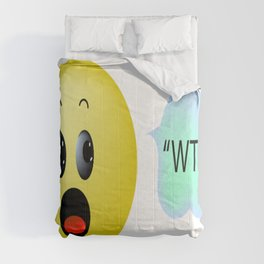 """""""WTF?"""" Comforters"""