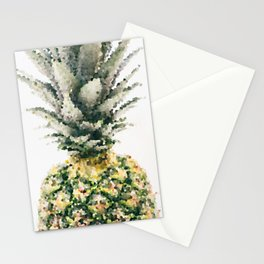 Pineapple crystallize Stationery Cards