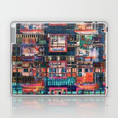 Colorful Buildings Collage Laptop & iPad Skin