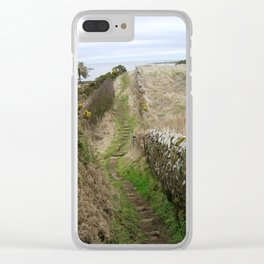 Take to the Sea Clear iPhone Case