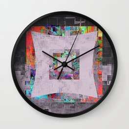 i am such a square Wall Clock
