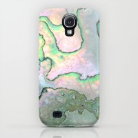 Samsung Galaxy S4 Case featuring Shell Texture by Patterns and Textures