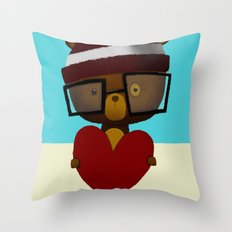 Yours Throw Pillow