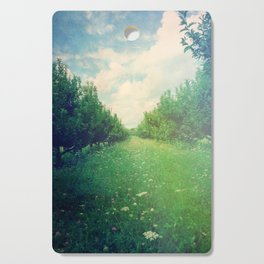 Apple Orchard in Spring Cutting Board