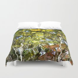 Abstract Tree Reflection Duvet Cover