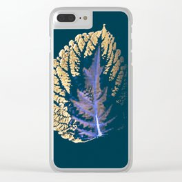 GOLD-LEAF Clear iPhone Case