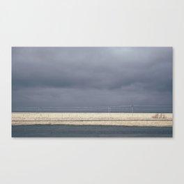 Dark Icelandic Road Canvas Print