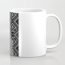 """""""Fade into grey with yellow' by Richard Schemmerer Coffee Mug"""