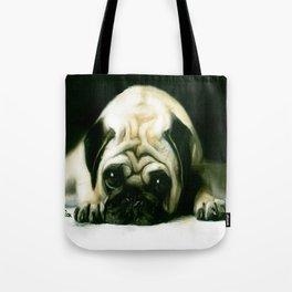 PUG POWER OUTAGE Tote Bag