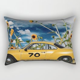 """let the sun shine..."" Rectangular Pillow"