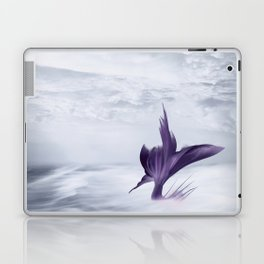 Mermaid Fantasy Ocean Seascape - Purple Mermaids Laptop & iPad Skin