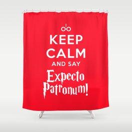 HP - Keep Calm Shower Curtain