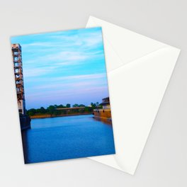 Dock in Old Port Stationery Cards