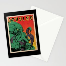 Vintage Cthulhu Stationery Cards