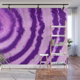 Pink Agate Wall Mural