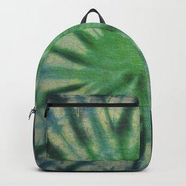 Tie Dye Blue Green 8 Backpack