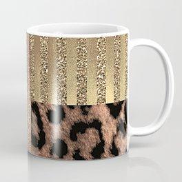 Gold Lioness Safari Chic Coffee Mug