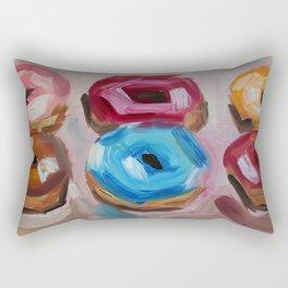 Donuts, desert, sweet Rectangular Pillow