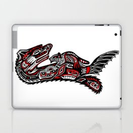 Haida Otter and Baby Laptop & iPad Skin