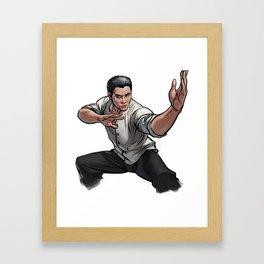 Jet Li Framed Art Print