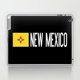New Mexico: New Mexican Flag & New Mexico Laptop & iPad Skin