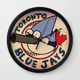 Toronto Mordecais Wall Clock