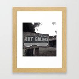 Art Gallery Framed Art Print
