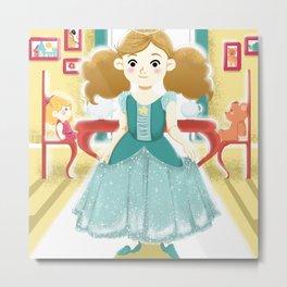 Little princess Metal Print