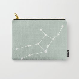 Virgo Zodiac Constellation - Sage Carry-All Pouch