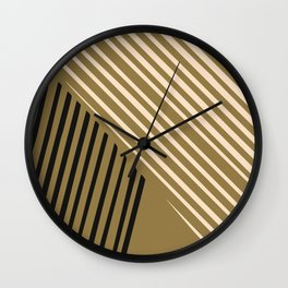 Dorm abstract line Wall Clock