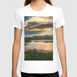 Sunrise on the Rivers Photograph T-shirt