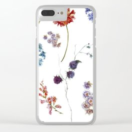 A Bounty of Joy - Flowers - Clear iPhone Case
