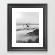 Evade Framed Art Print