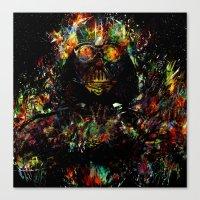 vader Canvas Prints featuring Vader by ururuty