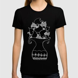 Amphora - Black White T-shirt