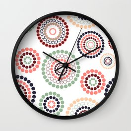 Dizzy Hippie Vibes Wall Clock