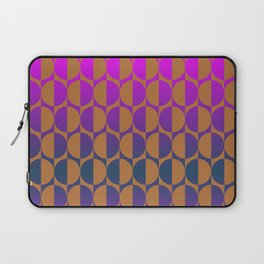 1974, magenta and brown Laptop Sleeve