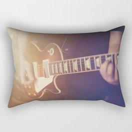 Guitar vibes Rectangular Pillow